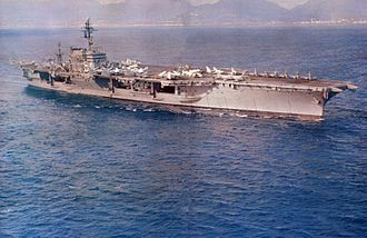 USS Constellation (CV-64) - USS Constellation during her 1964–65 WESTPAC cruise.