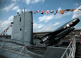 USS Growler (SSG-577) - USS Growler