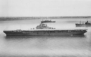 USS Kearsarge (CV-33) - USS Kearsarge on 13 April 1946.