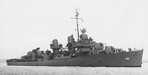 USS Remey - USS Remey in World War II.