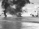 USS San Francisco (CA-38) under air attack on 12 November 1942.jpg