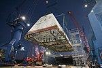 USS Zumwalt gets its deckhouse. (8287173487).jpg