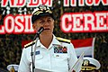 US Navy 080616-N-5831F-207 Rear Adm. Nora Tysonthanks Royal Thai Navy and Marines during a closing ceremony for the second phase of Cooperation Afloat and Readiness Training (CARAT) 2008.jpg