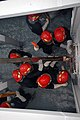 US Navy 080819-N-6936D-088 Sailors assigned to the amphibious assault ship USS Essex (LHD 2) work together to build.jpg