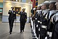 US Navy 100318-N-8273J-023 Chief of Naval Staff, Pakistan Navy, Adm. Noman Bashir inspects the U.S. Navy ceremonial guard.jpg