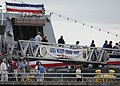 US Navy 100806-N-9520G-002 Visitors tour the Arleigh Burke-class guided-missile destroyer USS Kidd (DDG 100) during the 61st annual Seattle Seafair Navy Week.jpg