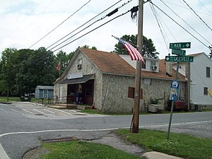 Galesville, Maryland - The U.S. Post Office at Galesville, Maryland, in May 2010
