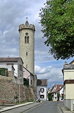 Uhrturm Oppenheim 2012