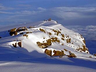 Kilimanjaro Region - The snowcapped Uhuru Peak