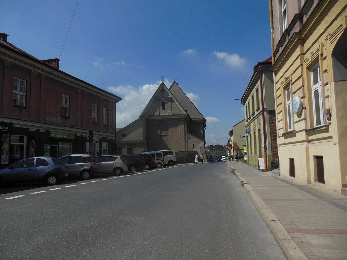 Ulica Bernardynska W Tarnowie Wikipedia Wolna Encyklopedia