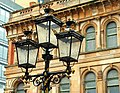 Ulster Hall lampposts, Belfast - geograph.org.uk - 1274621.jpg