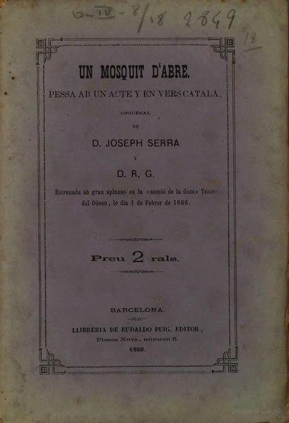 File:Un Mosquit d'abre (1866).djvu
