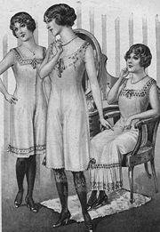 Damenunterwäsche 1913
