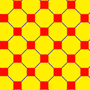 Truncated square tiling - Image: Uniform tiling 44 t 12