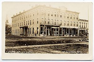 McPherson, Kansas - McPherson Union Hotel, 1907 postcard