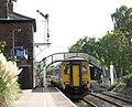 Unit 156 402 leaving Brundall station - geograph.org.uk - 1531850.jpg