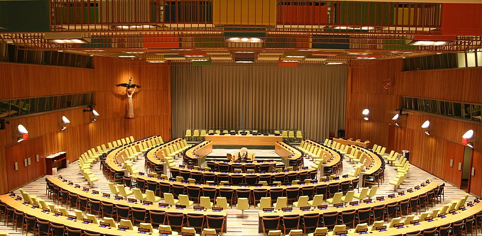 United Nations Trusteeship Council chamber in New York City 2