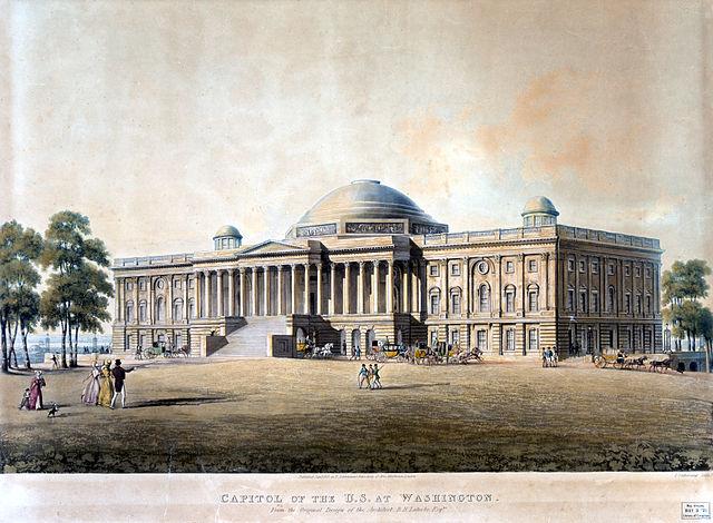 https://upload.wikimedia.org/wikipedia/commons/thumb/4/4e/United_States_Capitol_-_circa_1825.jpg/640px-United_States_Capitol_-_circa_1825.jpg