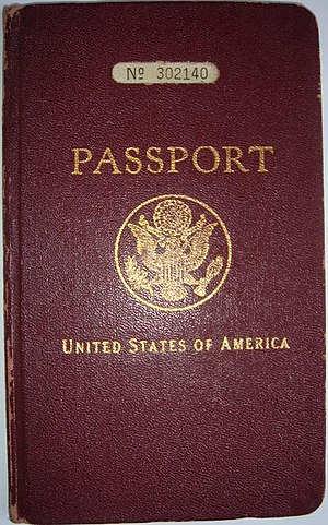 United States passport 1930