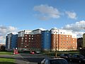 University of Leeds Leodis Residences from Woodhouse Street (2009) - panoramio.jpg