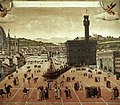 Unknown painter - Execution of Savonarola on the Piazza della Signoria - WGA23932.jpg