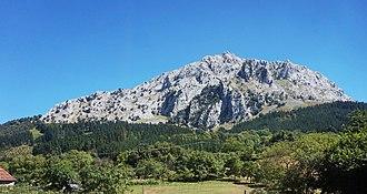 Untxillaitz - Mount Untxillatx