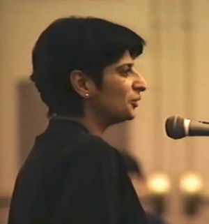 Urvashi Vaid - Urvashi Vaid at the 1993 National Gay and Lesbian Task Force's Creating Change Conference