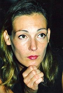 Ute Lemper German singer and actress