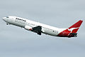 VH-TJM 'Kestrel' Boeing 737-476 Qantas (8684636983).jpg