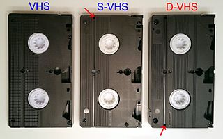 D-VHS Magnetic tape-based format meant for the distribution of digital HD movies