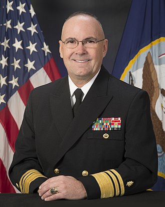 United States Navy staff corps - Image: VICE ADMIRAL C. FORREST FAISON, III