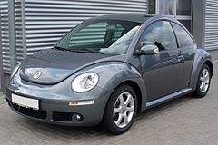 VW New Beetle po face liftingu