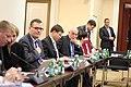 Valdis Dombrovskis Viļņā tiekas ar Lietuvas un Igaunijas premjeriem (8005499962).jpg