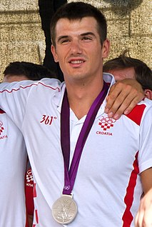 Valent Sinković Croatian rower