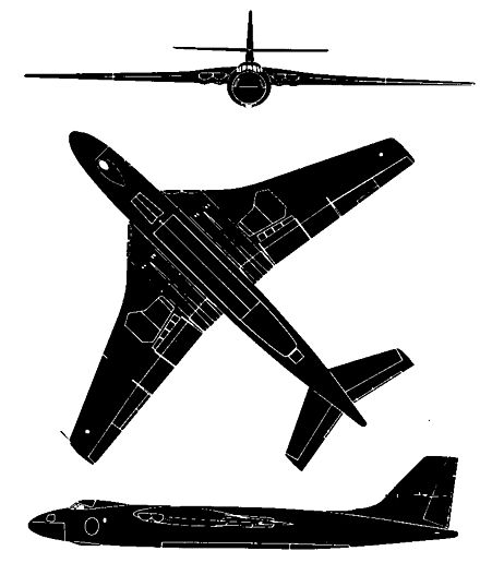 Silhouette of the Valiant B.1