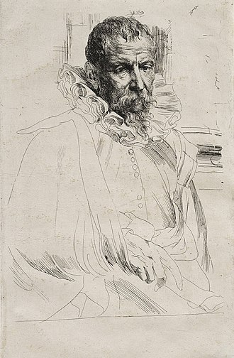 Pieter Brueghel the Younger - Pieter Brueghel the Younger by Anthony van Dyck