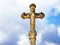 Vanvey. Détail de la croix de chemin, lieu-dit moulin du haut. 2015-04-12.jpg