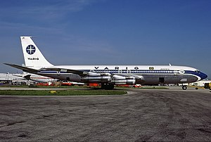 Varig Flight 820 - A Varig Boeing 707-379C similar to the one involved in the accident