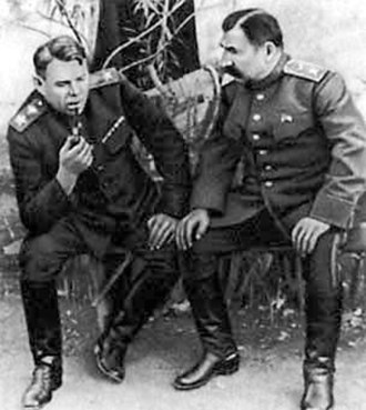 Aleksandr Vasilevsky - Vasilevsky and Budyonny in the Donbass, 1943