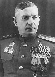 Vasily Glagolev Soviet general