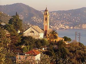 Pieve Ligure - Image: Veduta chiesa pieve ligure