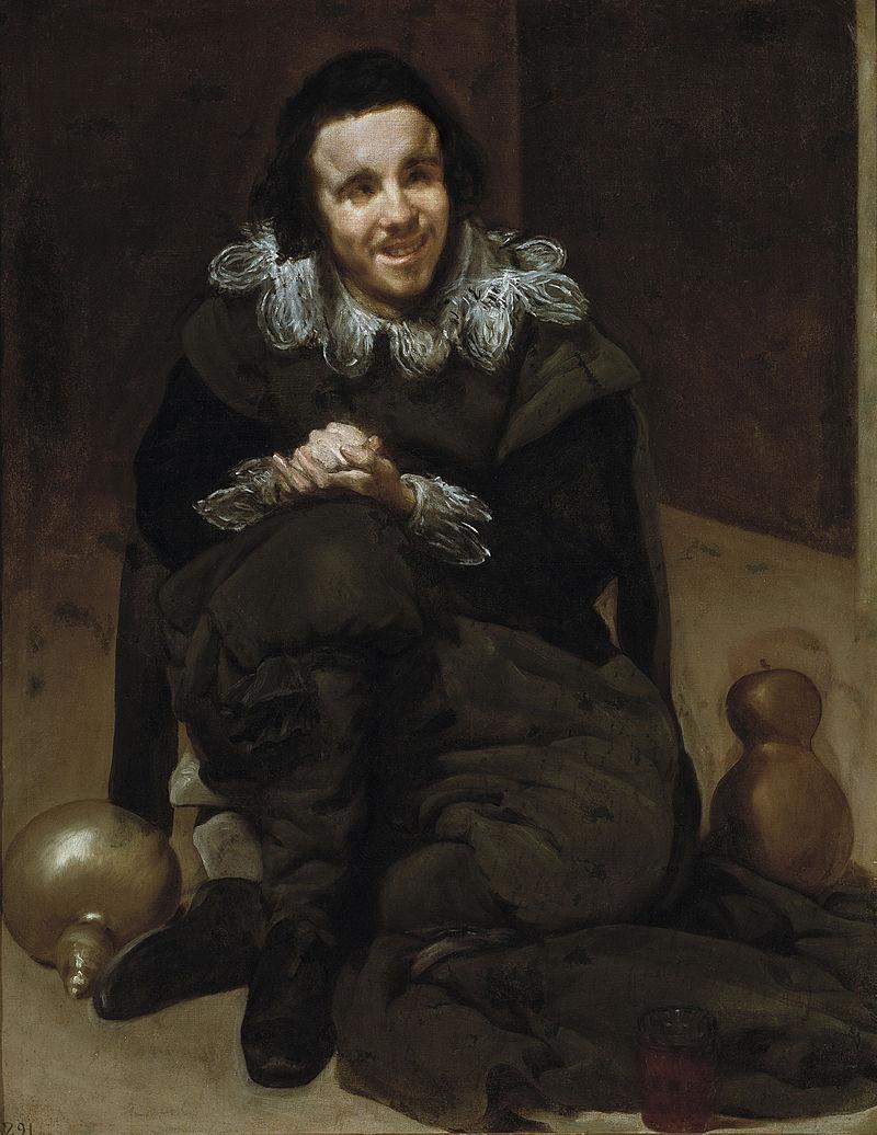 Velázquez - El Bufón Calabacillas (Museo del Prado, 1636-37).jpg