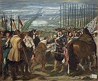 Velázquez - de Breda o Las Lanzas (Museo del Prado, 1634-35).jpg