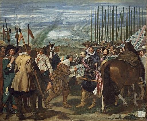 Velazquez - de Breda o Las Lanzas (Museo del Prado, 1634-35)