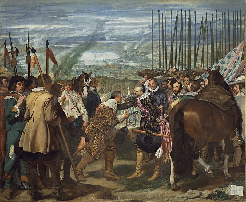 «Dios es español» (1596-1626) 800px-Vel%C3%A1zquez_-_de_Breda_o_Las_Lanzas_%28Museo_del_Prado%2C_1634-35%29