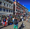 Venice city scenes - canal side markets (11002264276).jpg