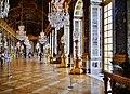 Versailles Château de Versailles Innen Grande Galerie 15.jpg