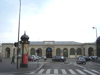 railway station in Versailles, France