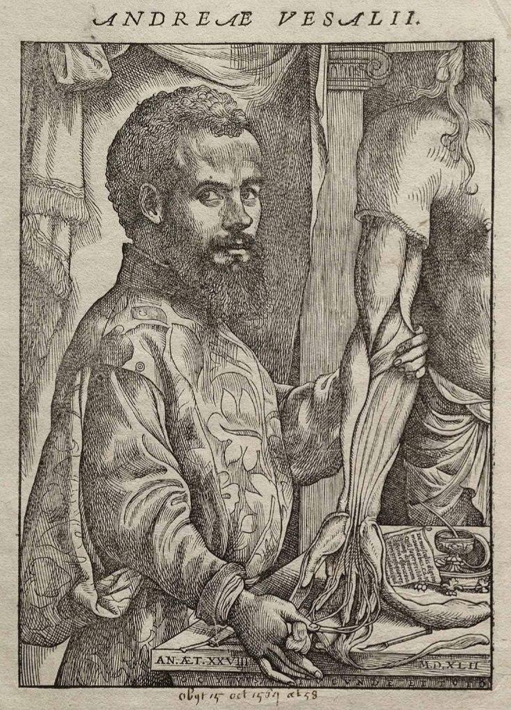 Vesalius Fabrica portrait