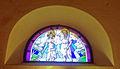 Vetrata con dipinto di San Giovanni Battista Farnetella.jpg